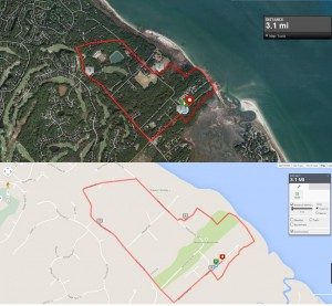 Race Map - Hilton Head 5k & 10K Run - Sandalwood Run for Hunger!