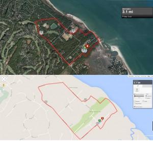 Race Map - Hilton Head 5k & 10K Run - Sandalwood Run for Hunger!
